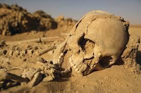 Corpse in Desert